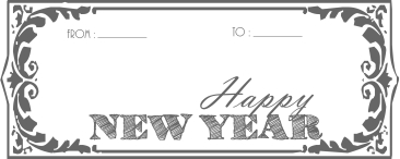 Happy New Year Tags (2015)